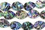 Mother Of Pearl / Abalone 21MM Tear Drop