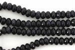 Gemstone Bead, Blue Goldstone, Faceted, Rondelle, 8MM