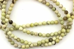 Gemstone Bead, Lemon Jasper, Round, 6MM