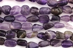 Gemstone Bead, Amethyst, Nugget, 12MM