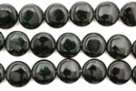 Green Goldstone / 12MM Coin