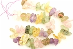Gemstone Bead, Mix, Rose Quartz, Amethyst, Citrine, Prehnite, Nugget, 15MM