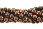 Gemstone Bead, Tiger Eye, Round, 6MM