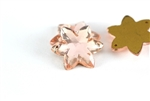 Vintage West German Sew On Rhinestone / Star Rose 20MM