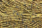10/0 Seed Bead / Aged Striped Picasso Mix