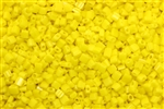 Seed Bead, Sew On, Square, 2MM, Czechoslovakian, Vintage, Yellow