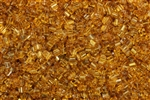 Seed Bead, Sew On, Square, 2MM, Czechoslovakian, Vintage, Topaz