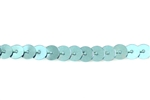 Sequin Trim, 5MM, Vintage, Flat Round, Aqua Blue