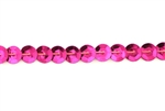 Sequin Trim, 5MM, Vintage, Round, Cupped, Fuchsia