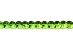 Sequin Trim, 5MM, Vintage, Round, Cupped, Lime Green