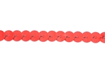 Sequin Trim, 5MM, Vintage, Flat Round, Red
