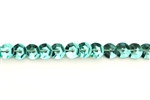 Sequin Trim, 5MM, Vintage, Round, Cupped, Aqua