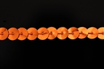 Sequin Trim, 6MM, Vintage, Round, Flat, Orange
