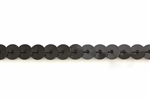 Sequin Trim, 5MM, Vintage, Flat Round, Black