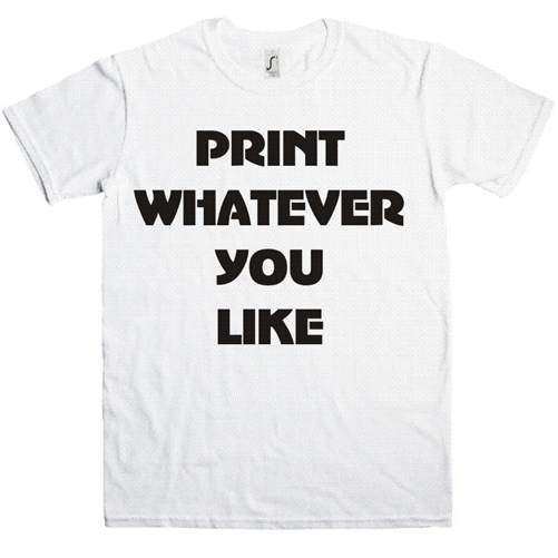 Personalised Custom London Tshirt Printing Company