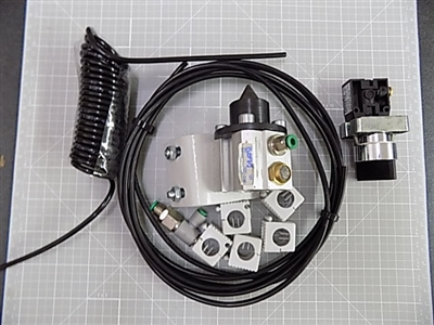 PNEUMATIC REFERENCE PIN ASSEMBLY WITH MOUNT, SYSTEM 46