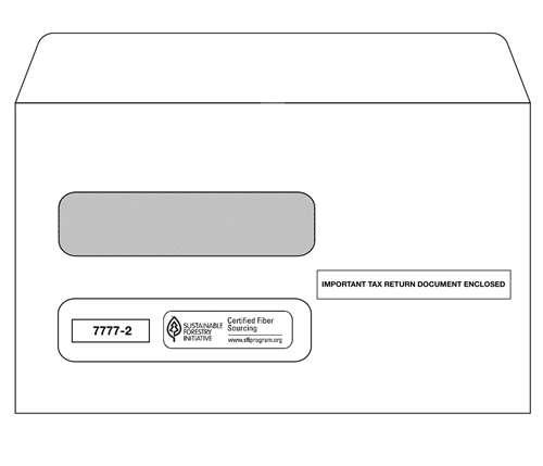 7777-2 envelopes