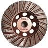 Cup Wheels flat turbo Coarse Granite