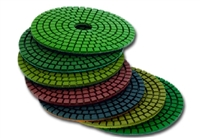 "Wet Polishing Pad 4"" Premium 3mm"