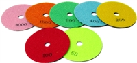 Dry Polishing Pads Premium 4""
