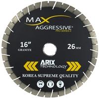 Arix Diamond blades for granite- Bridge Saw