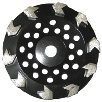 Cup Wheel Concrete Arrow Diamond Turbo