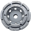 Concrete Double Row Cup Wheels