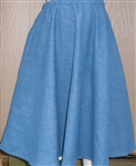 Girl Half Circle Skirt Jean Denim S 5 6 7