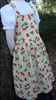 Girl Kitchen Apron Cherry Dots size 5 6 7