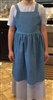 Girl Kitchen Apron Light Blue Denim size 8 10