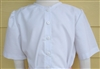 Ladies Classic Blouse White Oxford cotton poly size 6