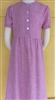 Girl Classic Dress Cheery Pink floral cotton size 12 X -long
