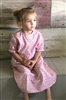 Girl Classic Dress Cheery Pink floral cotton size 14 X -long