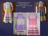 Girl Dress Patchwork Tiered Custom all sizes