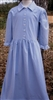 Ladies Dress Classic in Periwinkle Gingham size XS 4 6