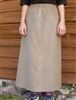 Girl A-line Skirt Tan Medium Weight Corduroy cotton size 7