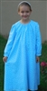 Girl Loungewear Gown Dress Twinkle Star Blue Flannel cotton size L 10 12
