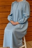 Ladies Nightgown Subtle Skies Blue Flannel M 10 12