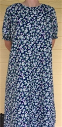 Ladies Nightgown Natural Dots L 14 16