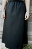 Ladies A-line Skirt Black Twill XL 18 20
