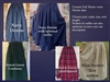 Denim, Flannel, or Corduroy Full Skirt all Girl sizes