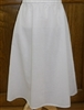 Girl Slip Cotton White Batiste size 12