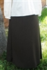 Maternity A-line Skirt Brown Polyester size 1X 22 24 X-long Tall
