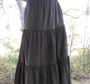 Ladies Skirt 3 Tiered Corduroy all sizes