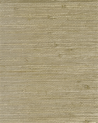 Medium Khaki brown natural grasscloth