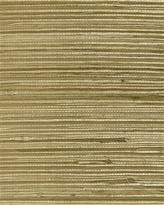 Medium Khaki blend natural grasscloth