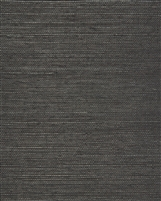 Graphite Black Natural Sisal Grasscloth