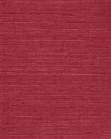 Poppy Red Natural Sisal Grasscloth