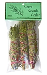 "Wholesale Cedar Smudge Stick 4""L Mini (Pack of 3)"