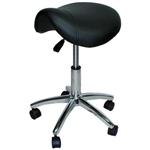 Hydraulic Adjustable Beauty Salon Stool Black ST-001